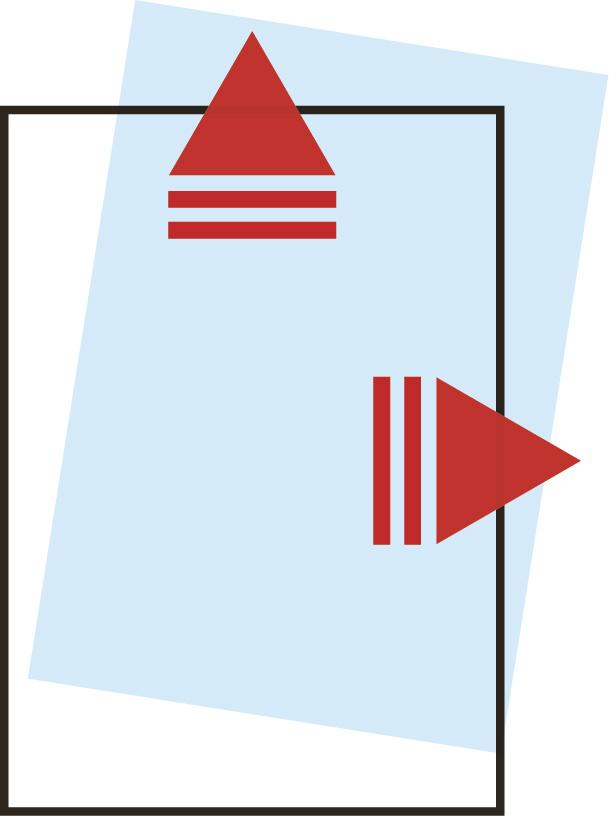 Schematische Darstellung von geöffneten Sichthüllen