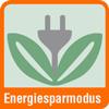 Piktogramm Aktenvernichter mit einer Grafik zum Energiesparmodus
