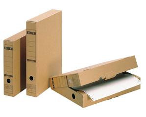 Archivboxen aus Pappe