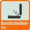 Piktogramm Bandscheibensitz