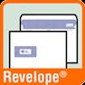 Piktogramm für Briefumschläge mit Revelope-Klebung