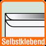 Piktogramm für selbstklebende Briefumschläge