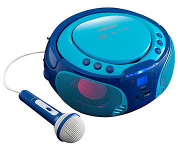 CD-Player mit Mikrofon für Kinder