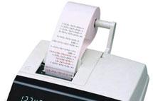 Druckender Tischrechner mit Steuerberechnung