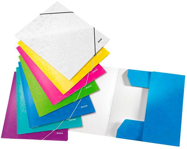 Eckspannmappen in verschiedenen Farben