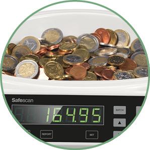 Münzzählgerät