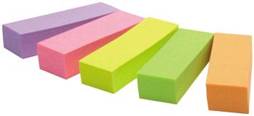 Haftmarker-Streifen in verschiedenen Farben