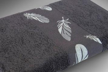 Handtuch mit Zierborte