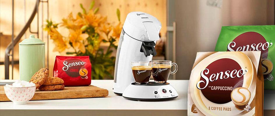 Senseo Kaffeepads für Padmaschinen