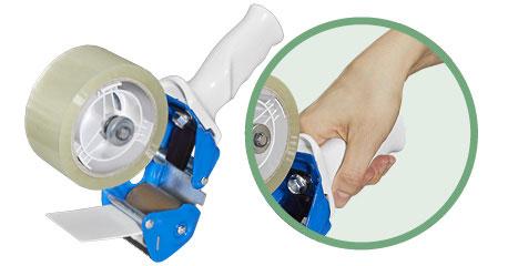 Klebebandroller mit ergonomischem Griff
