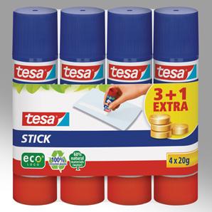 Klebestifte von Tesa im Pack mit 3+1 GRATIS