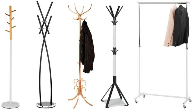 Verschiedene Garderoben