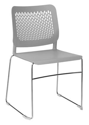 Konferenzstuhl mit 4-Fuß-Gestell