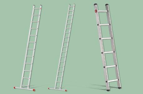Auswahl meherer Anlegeleitern