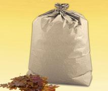 Ein Müllbeutel für die Entsorgung von Kompostierbarem