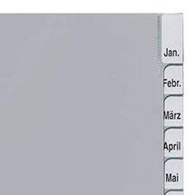 Ordnerregister mit Monaten