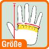 Piktogramm Handschuhgroesse