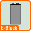 Piktogramm E-Block-Batterie