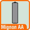 Piktogramm Batterie Mignon AA