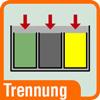 Piktogramm für Mülltrennung