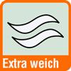 Piktogramm für extra weiche Papierhandtücher