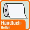 Piktogramm für Papierhandtücher auf der Rolle