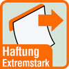 Piktogramm für Postits mit extremstarker Haftung
