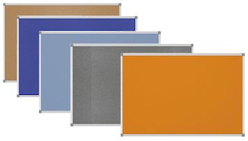 Pinnwände in verschiedenen Farben