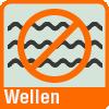 Piktogramm zur Visualisierung von Anti-Wellenbildung