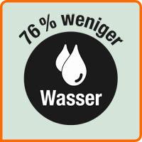Piktogramm Weniger Wasserverbrauch
