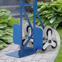 Sackkarre mit Dreifach-Reifen für Treppen