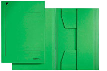 Grüne Sammelmappe aus Pappe