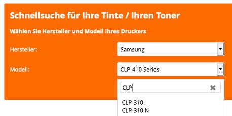 Samsung Toner clp 4092