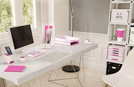 Ein Arbeitsplatz mit Schreibtischset