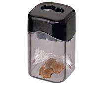 Spitzer mit transparentem Auffangbehaelter