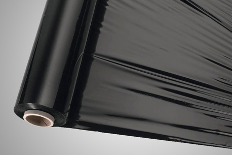 Schwarze Stretchfolie bietet UV-Schutz
