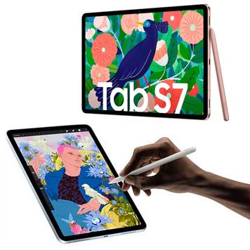 Samsung Galaxy Tab7 und Apple iPad