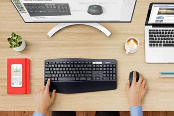 kabelloses Tastatur-Maus-Set