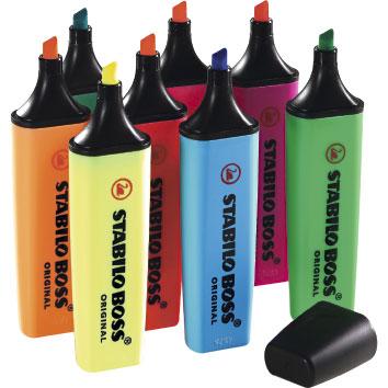 Tetxtmarker in verschiedenen Farben