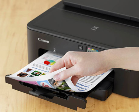 Tintenstrahldrucker mit automatischem Duplexdruck