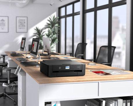 Tintenstrahldrucker in einem modernen Büro