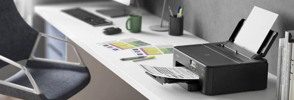 Tintenstrahldrucker im Homeoffice