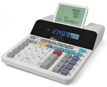 Tischrechner mit Zusatzfunktionen
