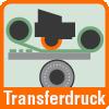 Transferdruck Symbol