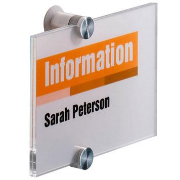 Türschild für Information