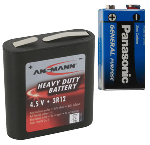 Zink-Kohle-Batterie unverpackt