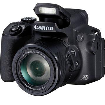 Große Digitalkamera im DSLR-Look