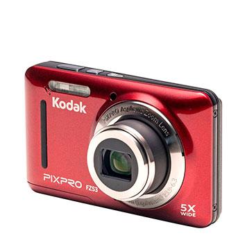 Rote, billige Digitalkamera