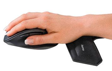 Handauflage für eine ergonomische Arbeitsweise