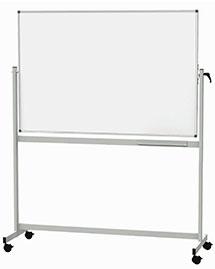 Stehendes Whiteboard mit Rollen